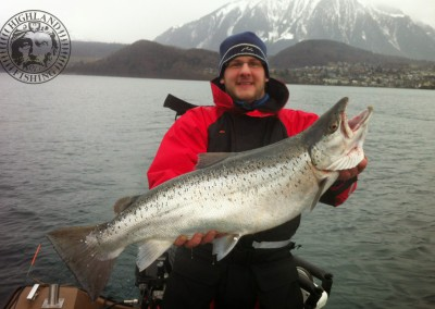 Seeforelle Thunersee, Highland Fishing