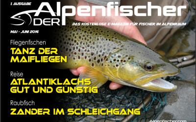 """Neues Fischereimagazin """"Der Alpenfischer"""""""