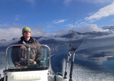 Patrick, Highland Fishing