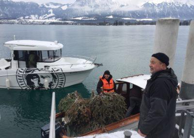 Eglibaumprojekt Thunersee, Highland Fishing