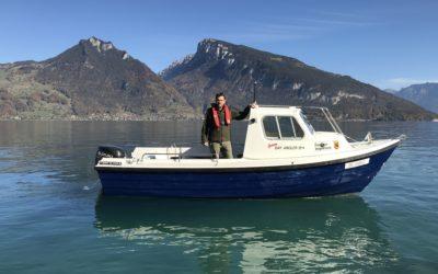 Wir Fischer vom Berner Oberland (SERIE 11/12) – Benjamin Gugger, Faulensee