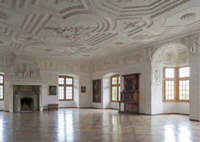 Schloss Spiez, Festsaal Schlossmuseum