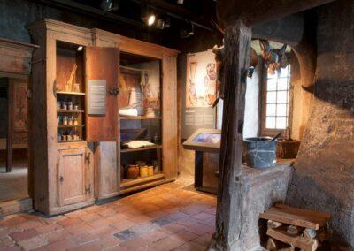 Schloss Spiez, Schlossmuseum Küche