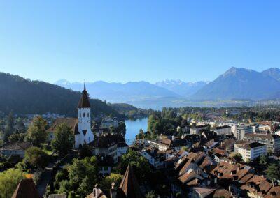 Aussicht Schloss Thun