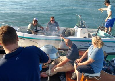 Round Table meets Highland Fishing, Thunersee